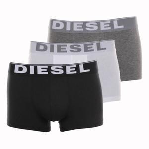 Lot de 3 Boxers Diesel - Noir/Gris/Blanc, Taille du S au XL