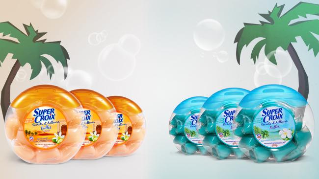 pack de 3 boîtes de lessive Super Croix Secrets d'Ailleurs.