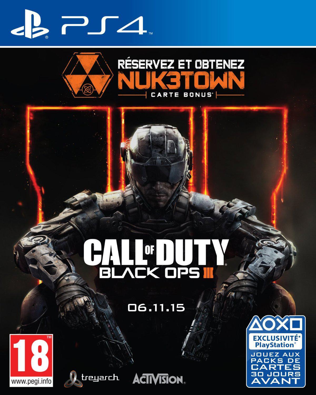 Jeu Call of duty : Black ops 3 sur PS4