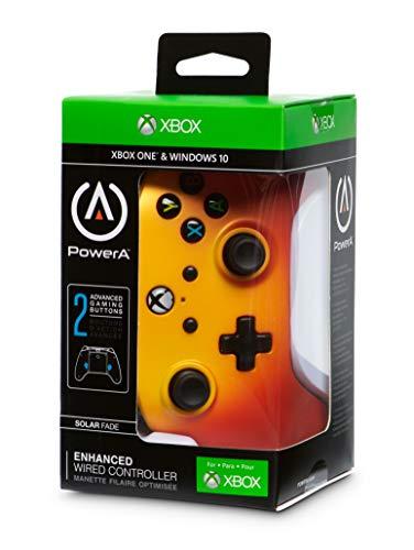 Manette filaire PowerA pour Xbox One avec 2 boutons programmables