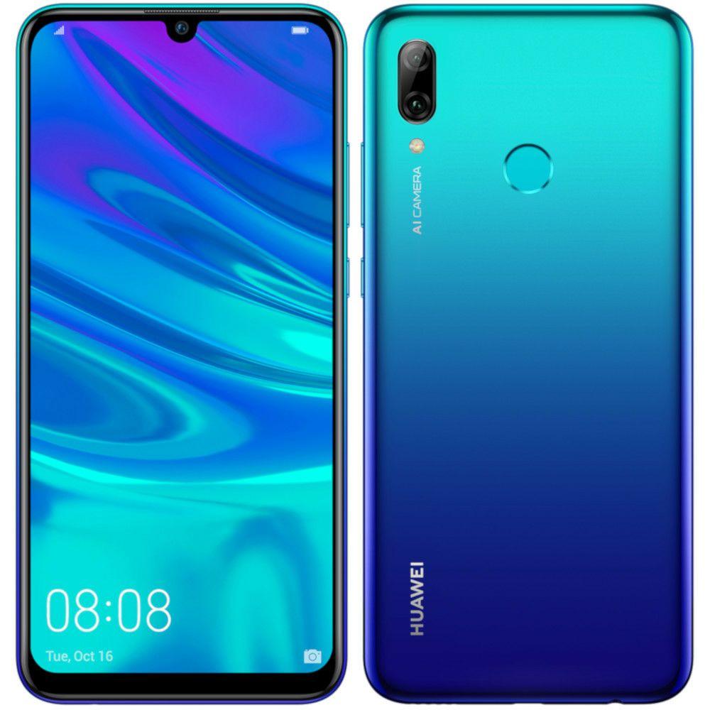 """Smartphone 6,21"""" Huawei P Smart 2019 - Kirin 710, 3 Go de RAM, 64 Go de stockage, Bleu (Vendeur tiers)"""