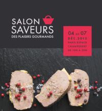 Invitation gratuite au Salon des saveurs qui aura lieu à Paris du 4 au 7 Décembre