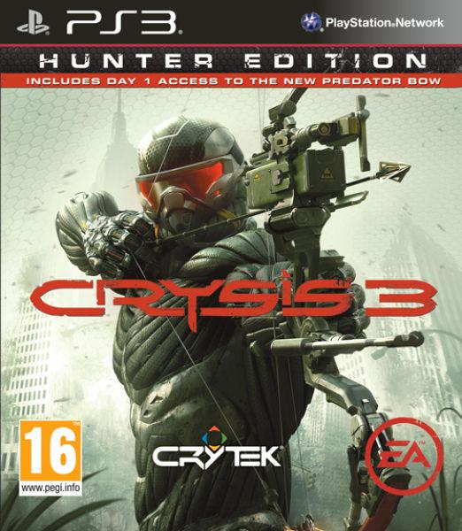 Pré-commande : Crysis 3 Hunter Edition sur PS3 et XBOX 360