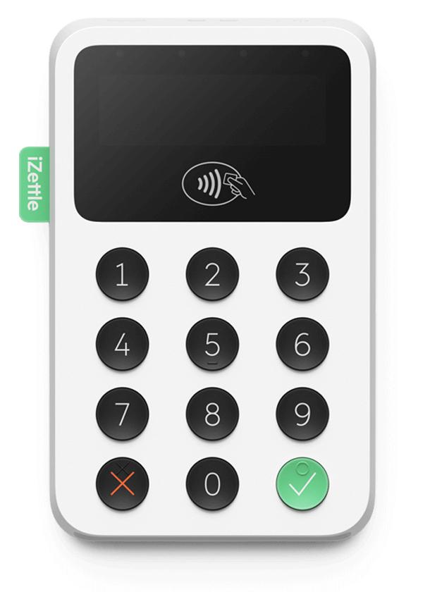 Terminal de paiement mobile iZettle 2 Bluetooth, compatible Android et iOS (izettle.com)