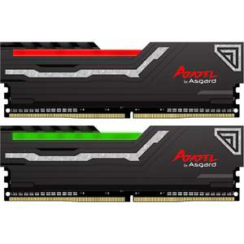 Kit mémoire RAM DDR4 Asgard Azazel RGB - 16 Go (2x8Go) - 3200 MHz - CAS 16