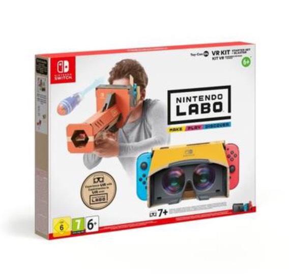 Kit Nintendo Labo - Toy-Con 04 (Ensemble de Base + Canon) pour Nintendo Switch