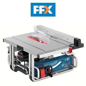 Scie sous table Bosch GTS10J 240v Professional Table Saw 1800w - 0601B30570