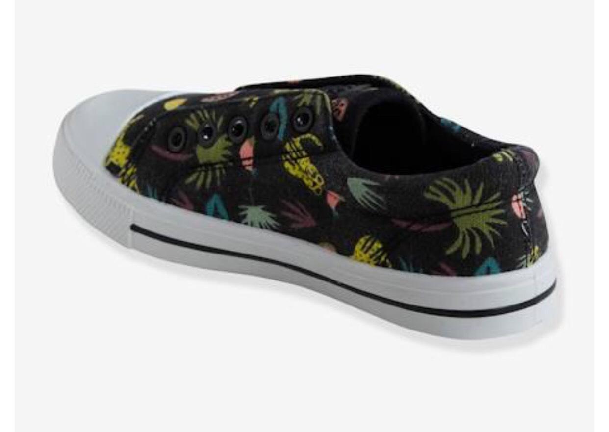 [Club Verbaudet] 40% de réduction sur les chaussures enfants. - Ex : Tennis Garçon élastiquées en toile