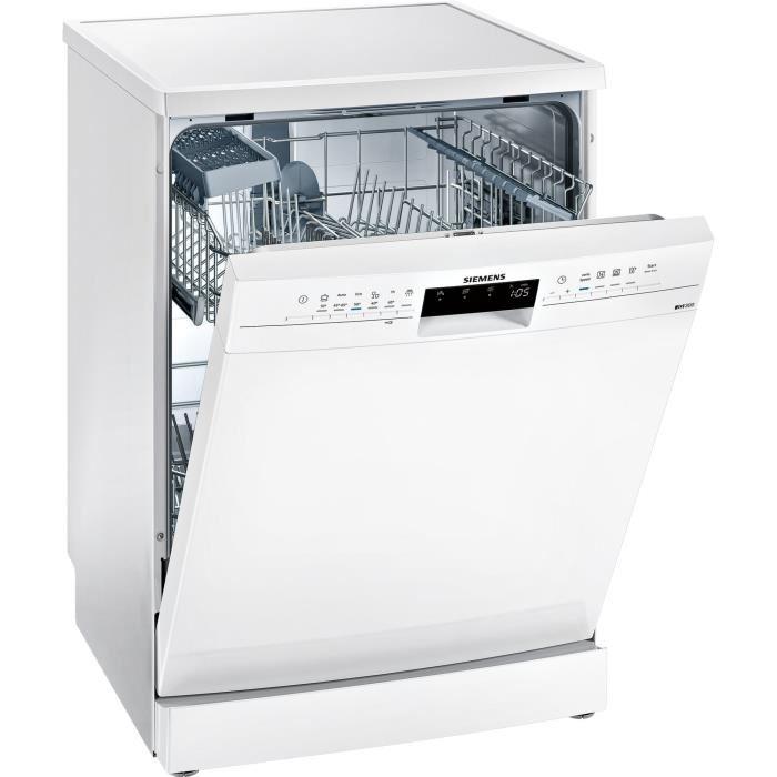 Lave Vaisselle Siemens SN236W02GE pose libre - 12 couverts, 46 dB, A+, 60 cm, Moteur induction