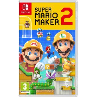 [Précommande] Packs de Jeux en promotion - Ex: Jeu Super Mario Maker 2 sur Nintendo Switch (+10€ sur compte fidélité Fnac pour adhérents)