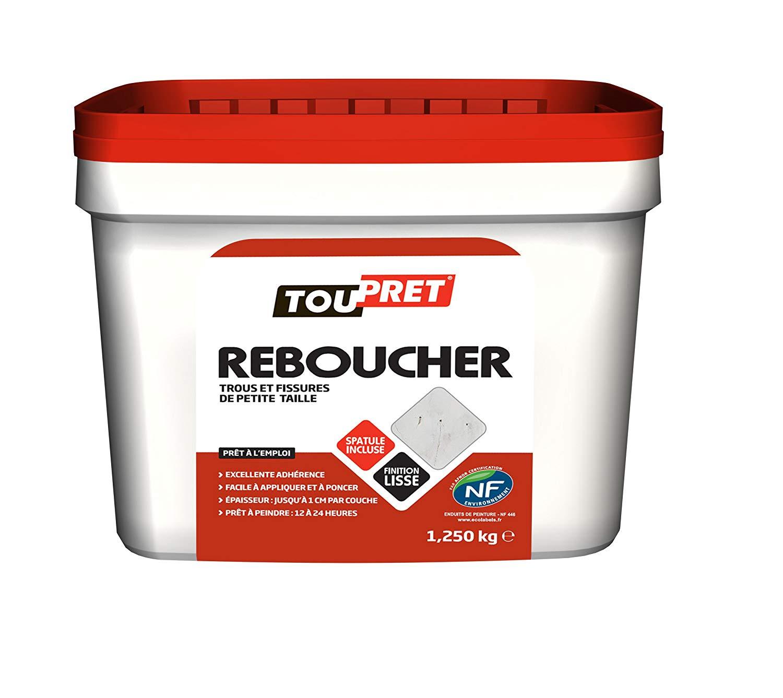 [Prime] Enduit Toupret 170030 Reboucher pâte - 1,25 kg