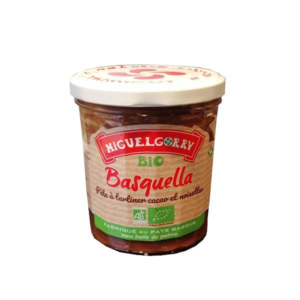 Pâte à tartiner Basquella Bio Miguelgorry - 300 GR - à Biok (Frontaliers Espagne)