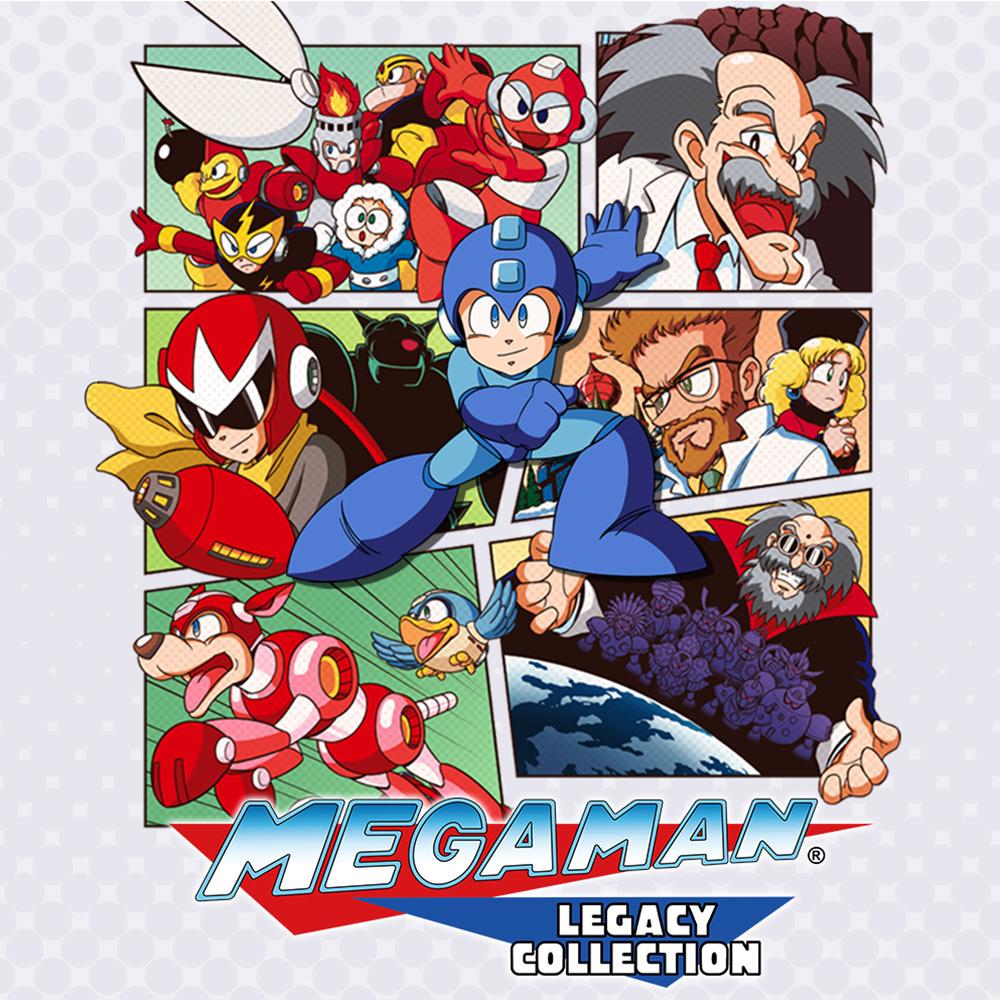 Mega Man Legacy Collection sur Nintendo Switch (Dématérialisé)