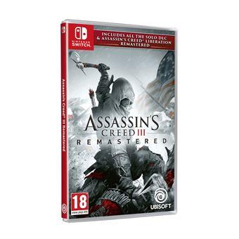 [Précommande] Assassin's Creed 3 + Assassin's Creed Liberation Remaster sur Nintendo Switch (+ 5€ sur le compte Fidélité)