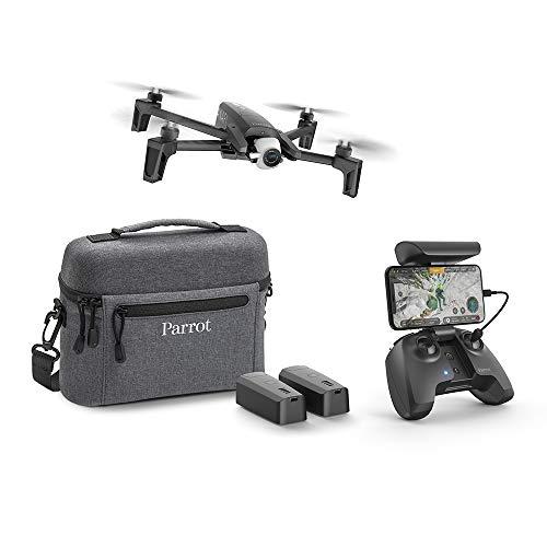 Pack Drone 4K Parrot Anafi Extended (Noir) + Télécommande + 2 Batteries + Housse