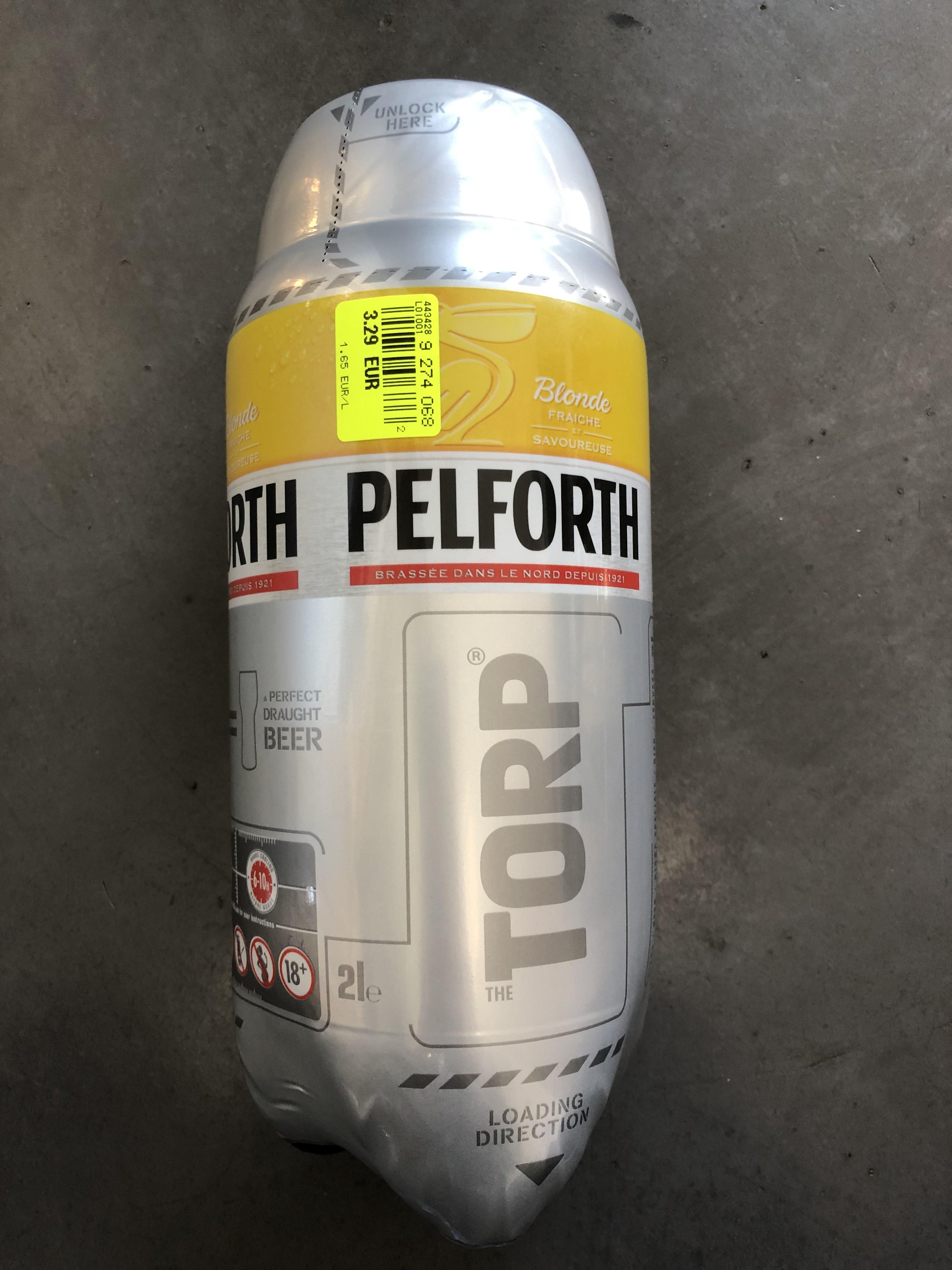 Fut de bière Torp Pelforth de 2L - Angers (49)