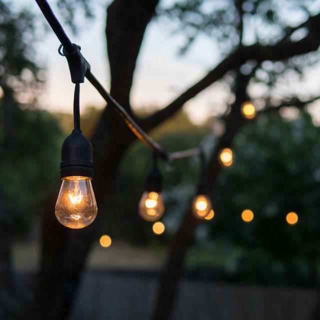 Guirlande extérieure Mafy LUMISKY E27 - 10 Ampoules Blanc chaud, 96 Lumen