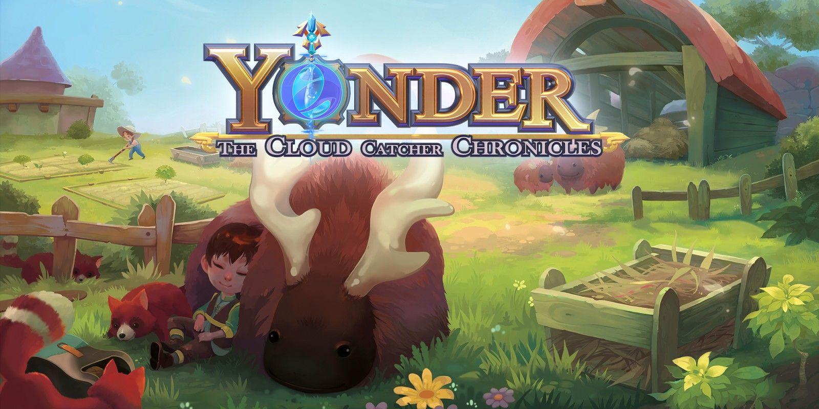 Jeu Yonder: The Cloud Catcher Chronicle sur Nintendo Switch (Dématérialisé)