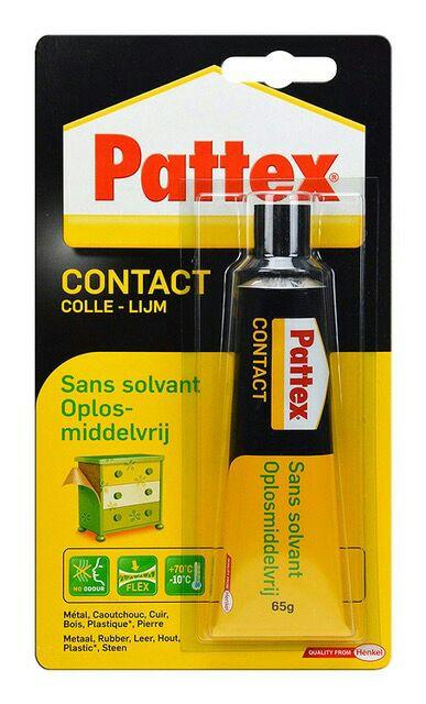 [Panier Plus] Colle Forte Pattex 1563698 Contact sans Solvant - 65g
