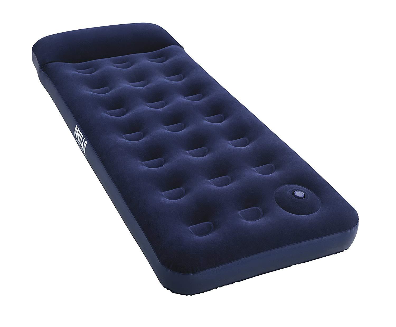 [Panier Plus] Matelas pneumatique Bestway Blue Horizon Step Pavillo avec pompe à pied intégrée - 185x76x28cm