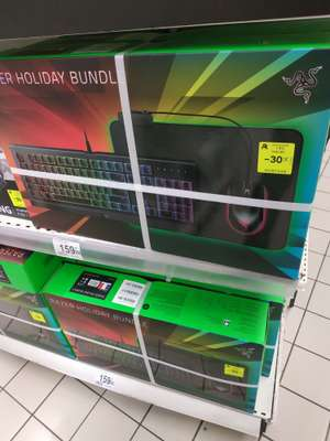 Pack gaming Razer Holiday Bundle: Clavier Cynosa Chroma + Souris Abyssus Essential + Tapis de souris Goliathus Chroma - St Priest Lyon (69)