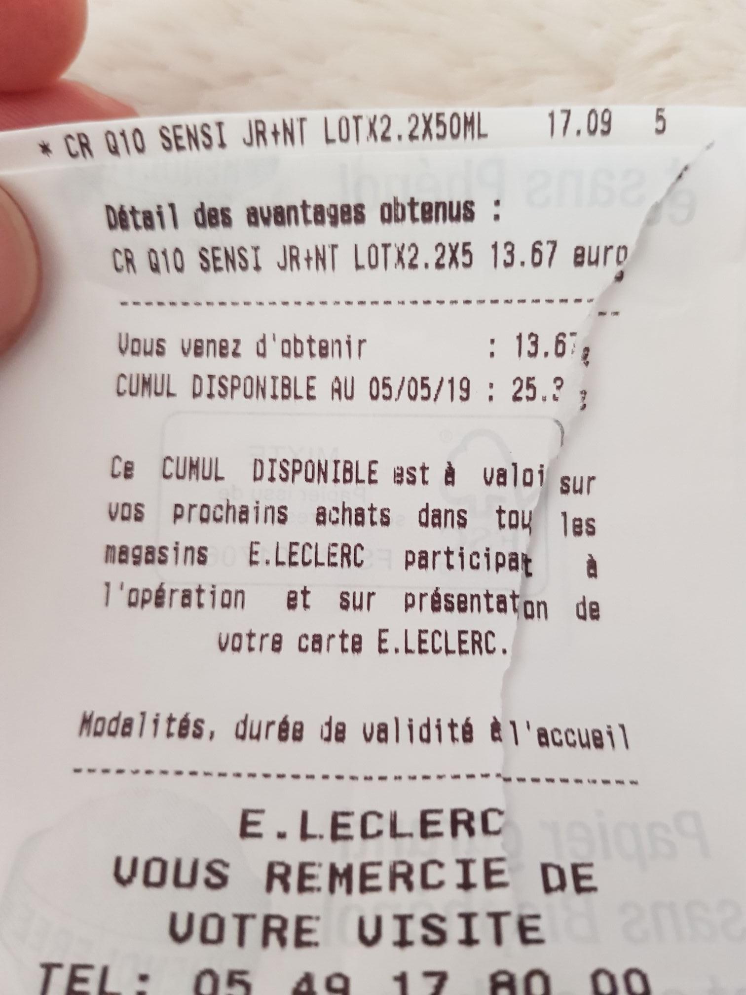 Crème Nivea Q10 Power Duo Jour et Nuit (Via 13,67€ sur la carte de Fidélité)