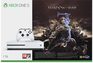 Pack Xbox One S 1To + Shadow of War + FH 2 + Halo 5 + 15J Xbox Live + 3M Game Pass - Stand Mediamarkt Fantasy Basel (Frontaliers Suisse)