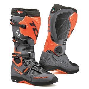 Bottes de moto TCX Comp Evo Michelin Gris Orange et Noir   Taille 40 - 41 - 42