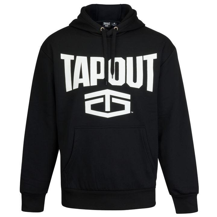 Sweat-shirt à capuche Homme Tapout - Noir (Plusieurs tailles)