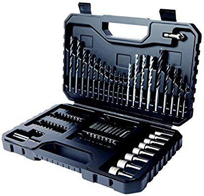 Coffret de Perçage-Vissage Black+Decker  A7219-XJ - 80 Pièces