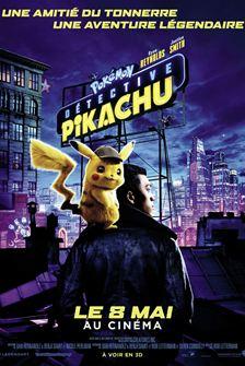 Pack de 2 cartes Pokémon offert (en réservant une place pour le film Détective Pikachu)