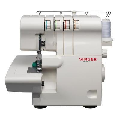 Surjeteuse Singer 14SH644 - 1300 points/min, Blanc (vendeur tiers)