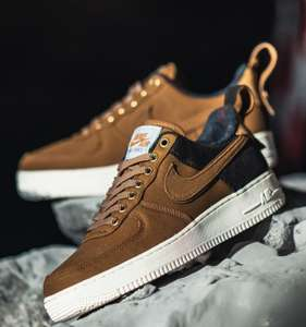 Sélection de Sneakers en promotion - Ex: Nike x Carhartt WIP Air Force 1'07 PRM Low - Marron / Beige, taille 40.5 et 41 (43einhalb.com)
