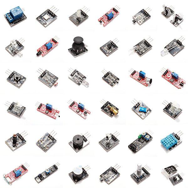 Lot de 37 capteurs Geekcreit pour développement Arduino