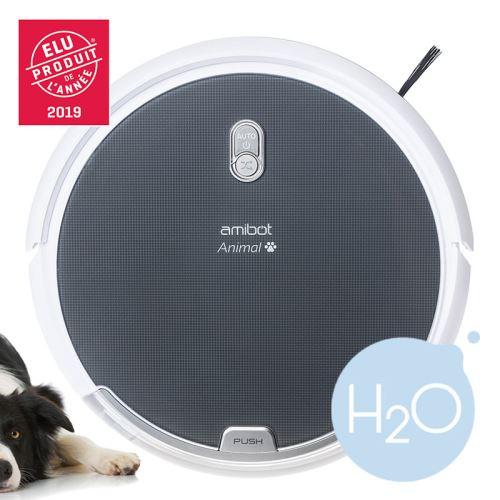 Robot Aspirateur et laveur autonome AMIBOT Animal Comfort H20 (Vendeur Tiers)