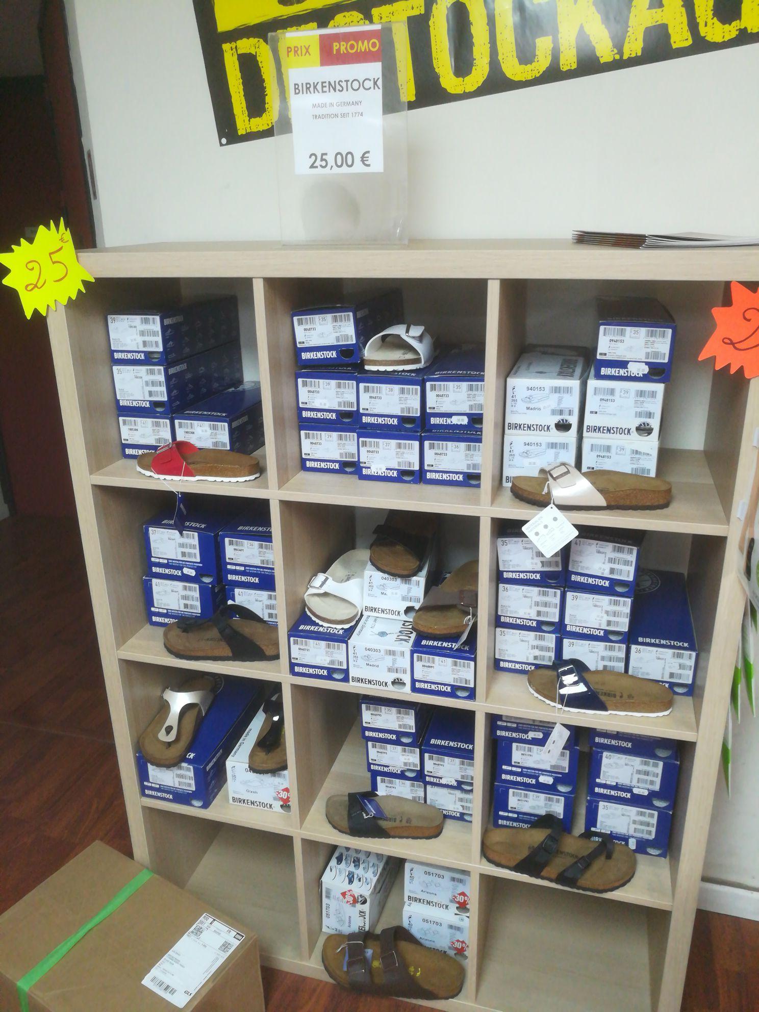 Sélection de chaussures Birkenstock à 25€ - Cap Vital Santé Médico Sud Toulon (83)