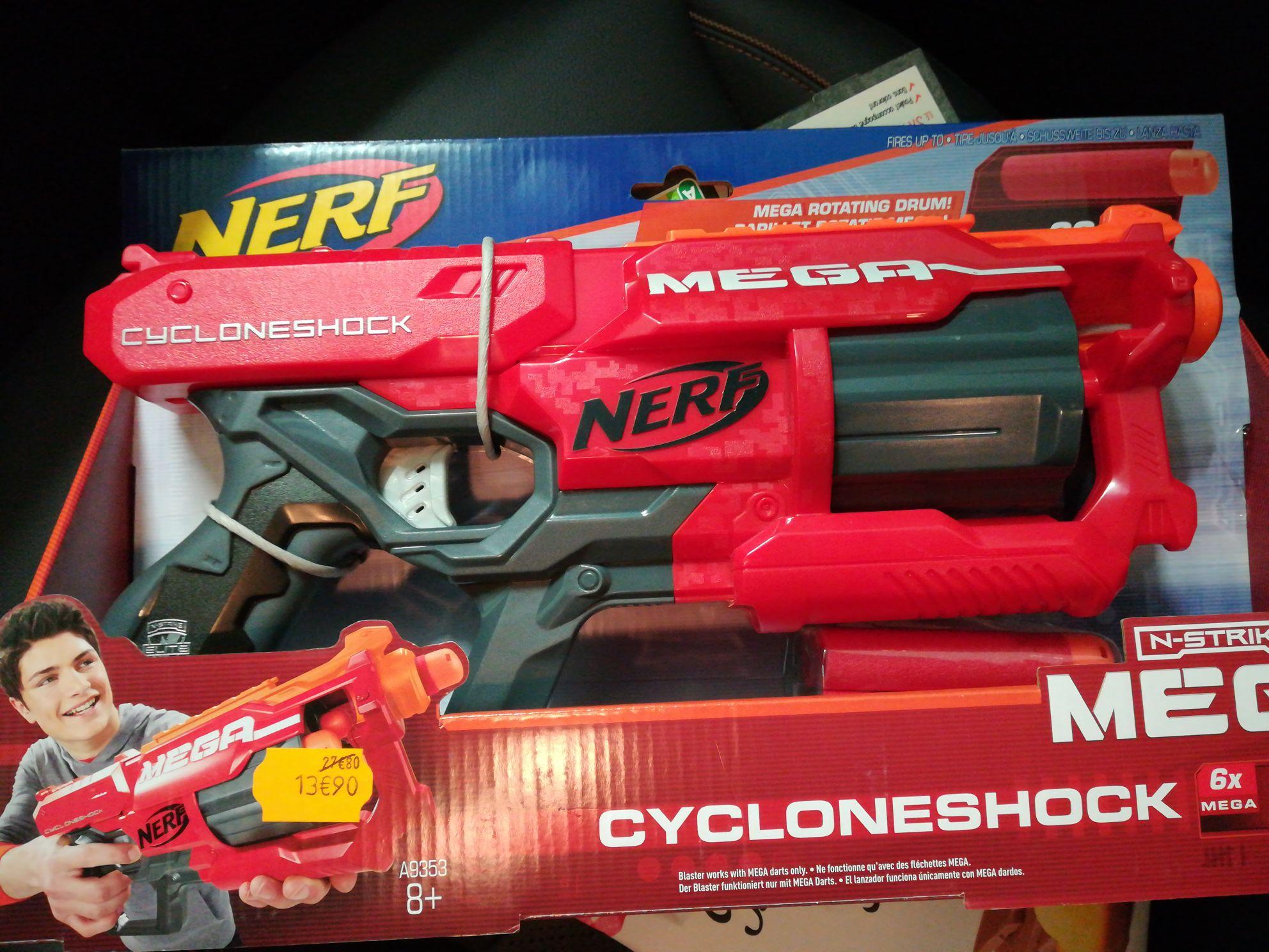 Pistolet Nerf cycloneshock - Carrefour Cesson Sévigné (35)