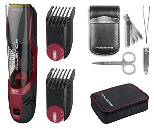 Tondeuse cheveux Rowenta TN9310F0 avec système d'aspiration AirForce Ultimate