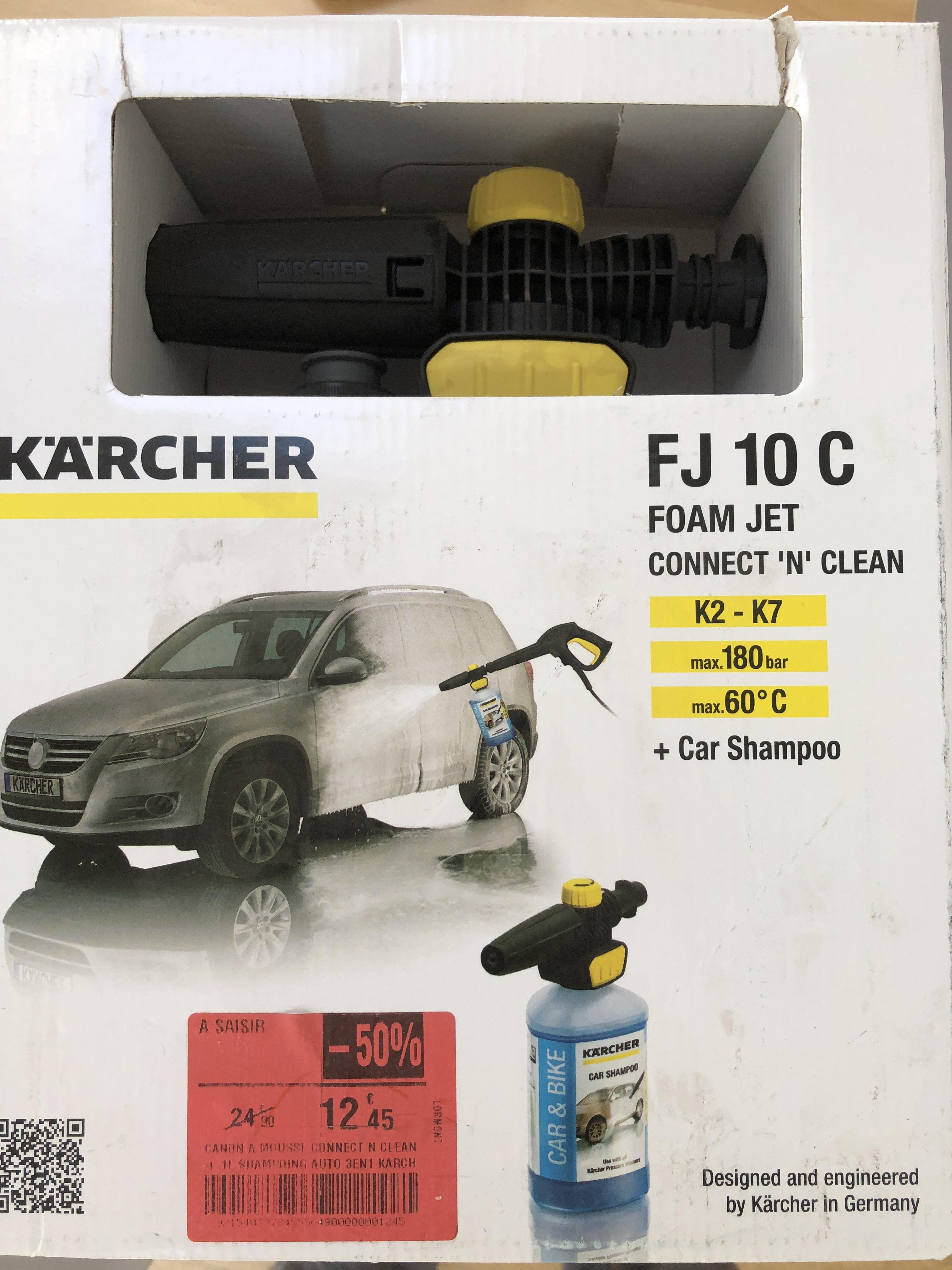Accessoire pour mousseur haute pression Kärcher FJ10C Connect n Clean + Car Shampoo - Lormont (33)
