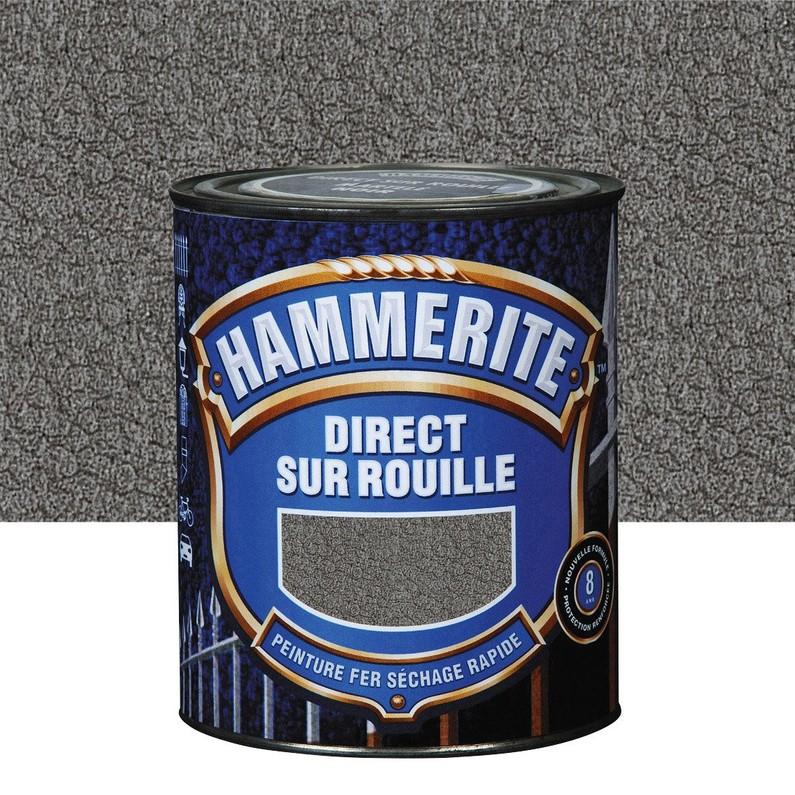 Peinture métal antirouille Hammerite - 2,5L (Plusieurs coloris)