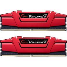 Kit mémoire G.Skill Ripjaws V F4-3600C19D-32GVRB - 32 Go DDR4, 3600 MHz,  288-pin DIMM, Rouge