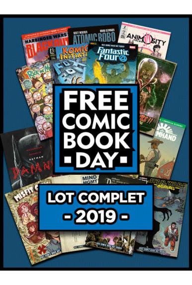 Lot de 13 comics (BD) du Free Comic Book Day offert dès 30€ d'achat avec livraison en point retrait