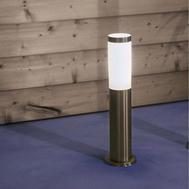 Borne d'extérieur lumineuse Chorus - 50 cm, ampoule E27 non-fournie (frais de port inclus) - LightOnline.fr