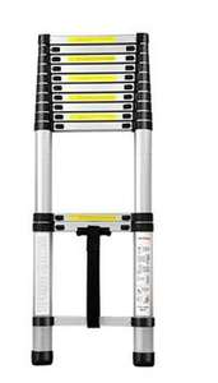 Échelle télescopique avec hauteur modulable - 4.4 mètres