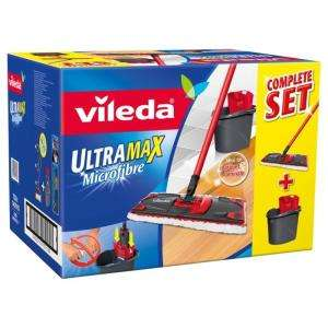 Set nettoyage Balai + Seau + Microfibre Ultramax Vileda
