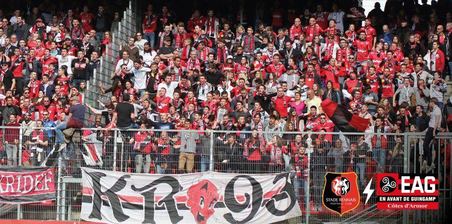 [Supporters Guingampais] Places gratuites pour le match de football de Ligue 1 Rennes - EA Guingamp à Rennes