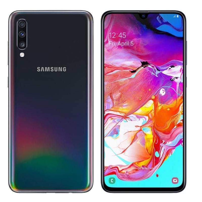 """Smartphone 6.7"""" Samsung Galaxy A70 - 128Go, 4G, Dual Sim, Noir (csmobiles.com)"""