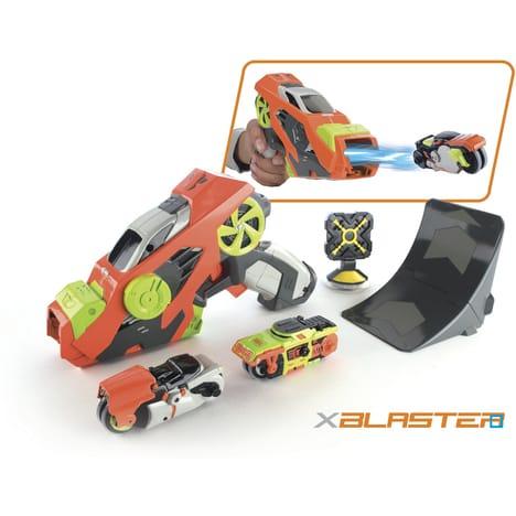 Lanceur + tremplin + 2 voitures Silverlit Blaster