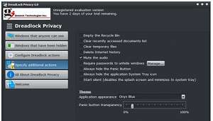 Logiciel Dreadlock Privacy Gratuit sur PC (Dématérialisé)