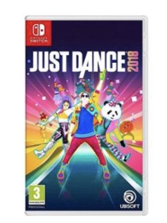 Just Dance 2018 sur Nintendo Switch